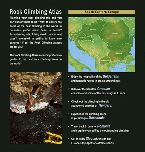 [ Rock Climbing Atlas - South Eastern Europe ]